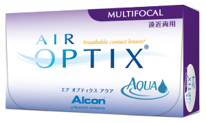 Air Optix Aqua Multifocal kontaktne leće za korekciju prezbiopije